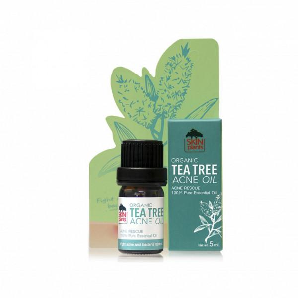 SKINPLANTS | Organic Tea Tree Acne Oil