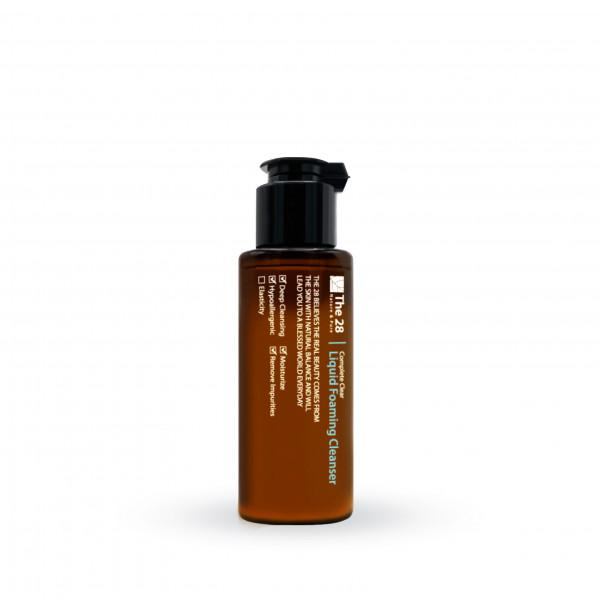 The 28   Complete Clear Liquid Foaming Cleanser, 30 ml.