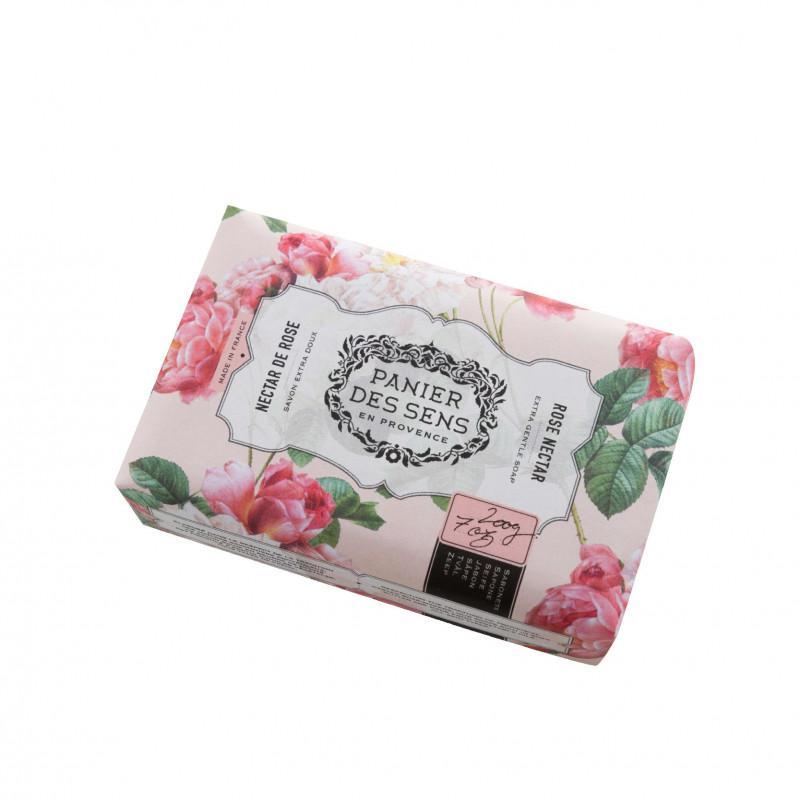 Panier Des Sens | EXTRA GENTLE SOAP ROSE NECTAR  200 g.