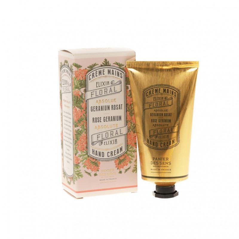 Panier Des Sens   Rose Geranium Absolute Hand cream 75 ml.