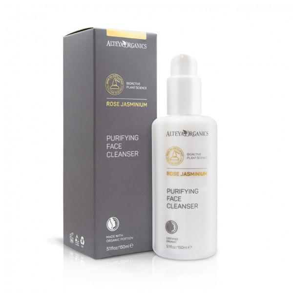Alteya Organics | Purifying Face Cleanser - Rose Jasminium