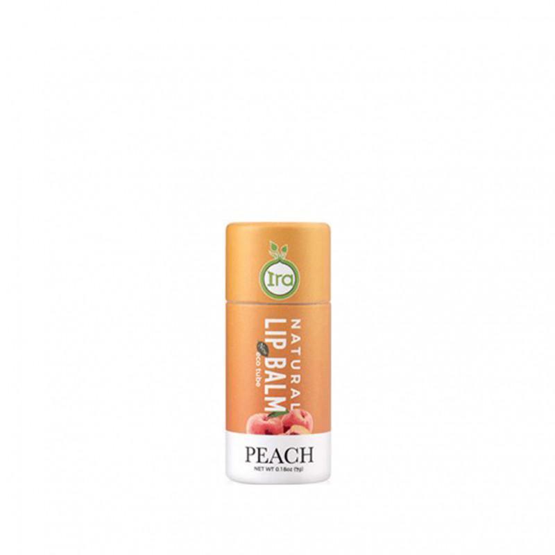 Ira Eco Tube Lip Balm Peach 7 g